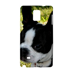 Boston Terrier Puppy Samsung Galaxy Note 4 Hardshell Case