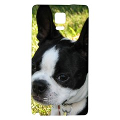 Boston Terrier Puppy Galaxy Note 4 Back Case