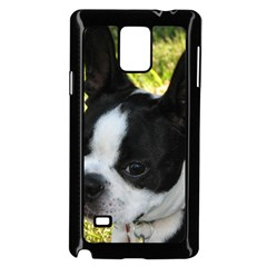 Boston Terrier Puppy Samsung Galaxy Note 4 Case (Black)