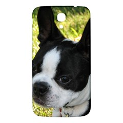 Boston Terrier Puppy Samsung Galaxy Mega I9200 Hardshell Back Case