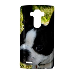 Boston Terrier Puppy LG G4 Hardshell Case