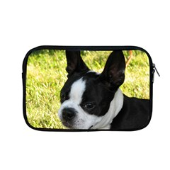 Boston Terrier Puppy Apple MacBook Pro 13  Zipper Case