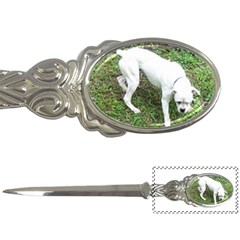 Boxer White Puppy Full Letter Openers