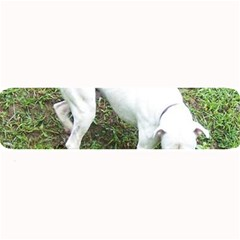 Boxer White Puppy Full Large Bar Mats