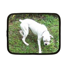 Boxer White Puppy Full Netbook Case (Small)