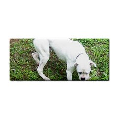Boxer White Puppy Full Cosmetic Storage Cases