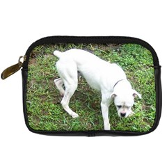 Boxer White Puppy Full Digital Camera Cases