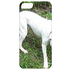 Boxer White Puppy Full Apple iPhone 5 Classic Hardshell Case