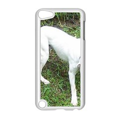 Boxer White Puppy Full Apple iPod Touch 5 Case (White)