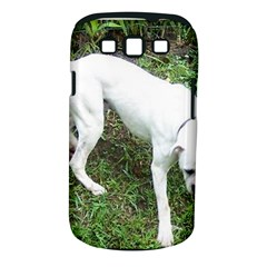 Boxer White Puppy Full Samsung Galaxy S III Classic Hardshell Case (PC+Silicone)