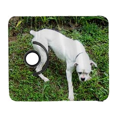 Boxer White Puppy Full Galaxy S3 (Flip/Folio)
