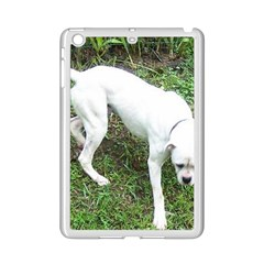 Boxer White Puppy Full iPad Mini 2 Enamel Coated Cases
