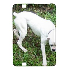 Boxer White Puppy Full Kindle Fire HD 8.9