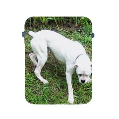 Boxer White Puppy Full Apple iPad 2/3/4 Protective Soft Cases