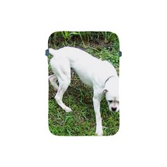 Boxer White Puppy Full Apple iPad Mini Protective Soft Cases