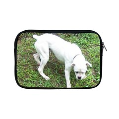 Boxer White Puppy Full Apple iPad Mini Zipper Cases