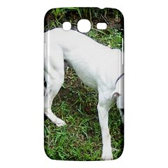 Boxer White Puppy Full Samsung Galaxy Mega 5.8 I9152 Hardshell Case