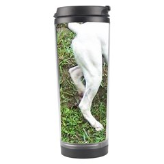 Boxer White Puppy Full Travel Tumbler