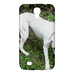 Boxer White Puppy Full Samsung Galaxy Mega 6.3  I9200 Hardshell Case