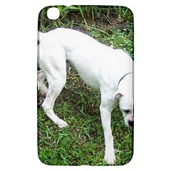 Boxer White Puppy Full Samsung Galaxy Tab 3 (8 ) T3100 Hardshell Case