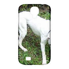 Boxer White Puppy Full Samsung Galaxy S4 Classic Hardshell Case (PC+Silicone)