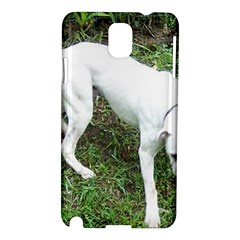 Boxer White Puppy Full Samsung Galaxy Note 3 N9005 Hardshell Case