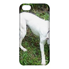 Boxer White Puppy Full Apple iPhone 5C Hardshell Case