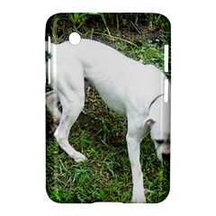 Boxer White Puppy Full Samsung Galaxy Tab 2 (7 ) P3100 Hardshell Case