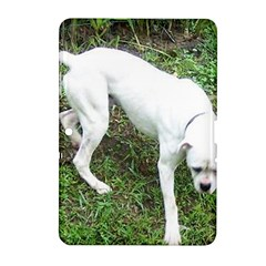 Boxer White Puppy Full Samsung Galaxy Tab 2 (10.1 ) P5100 Hardshell Case