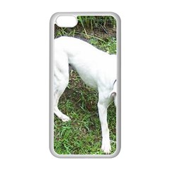 Boxer White Puppy Full Apple iPhone 5C Seamless Case (White)