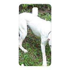 Boxer White Puppy Full Samsung Galaxy Note 3 N9005 Hardshell Back Case