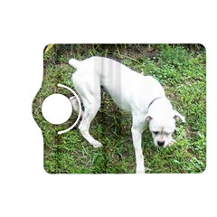 Boxer White Puppy Full Kindle Fire HD (2013) Flip 360 Case