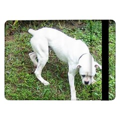 Boxer White Puppy Full Samsung Galaxy Tab Pro 12.2  Flip Case