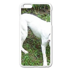 Boxer White Puppy Full Apple iPhone 6 Plus/6S Plus Enamel White Case