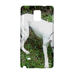 Boxer White Puppy Full Samsung Galaxy Note 4 Hardshell Case