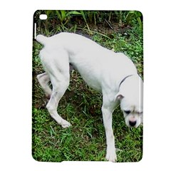 Boxer White Puppy Full iPad Air 2 Hardshell Cases