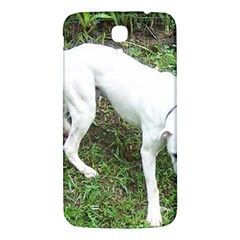 Boxer White Puppy Full Samsung Galaxy Mega I9200 Hardshell Back Case