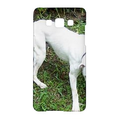 Boxer White Puppy Full Samsung Galaxy A5 Hardshell Case
