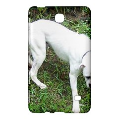 Boxer White Puppy Full Samsung Galaxy Tab 4 (7 ) Hardshell Case