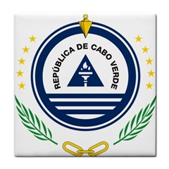 National Emblem of Cape Verde Tile Coasters