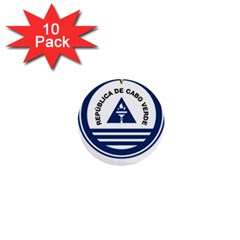 National Emblem of Cape Verde 1  Mini Buttons (10 pack)