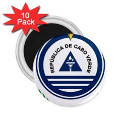 National Emblem of Cape Verde 2.25  Magnets (10 pack)