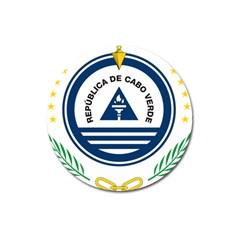 National Emblem of Cape Verde Magnet 3  (Round)