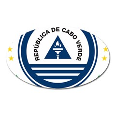 National Emblem of Cape Verde Oval Magnet