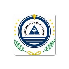 National Emblem of Cape Verde Square Magnet