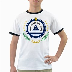 National Emblem of Cape Verde Ringer T-Shirts