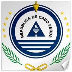 National Emblem of Cape Verde Canvas 16  x 16