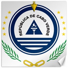 National Emblem of Cape Verde Canvas 20  x 20