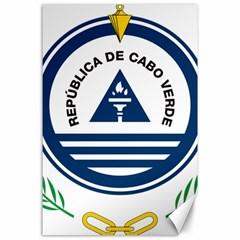 National Emblem of Cape Verde Canvas 24  x 36