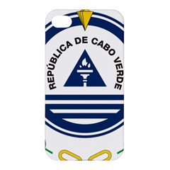 National Emblem of Cape Verde Apple iPhone 4/4S Premium Hardshell Case
